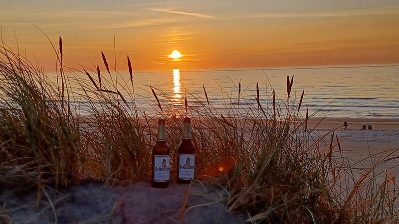 Dänemark Nordjüdland. Urlaub Nordsee Strand Stille. – Peter