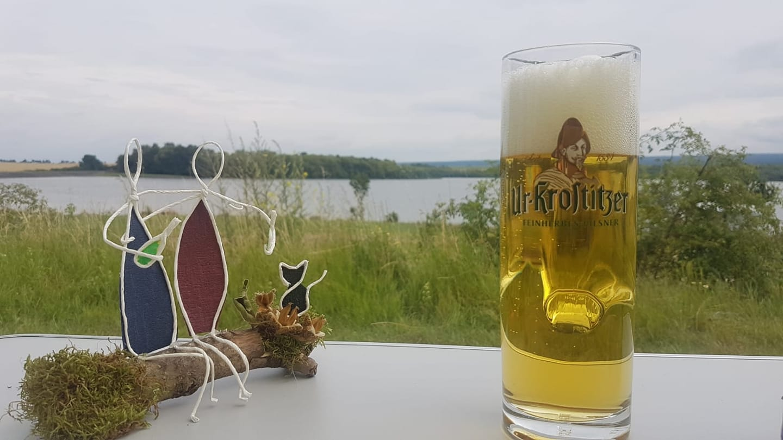 Urlaubs - Bier 🍺 – Annegret via FB