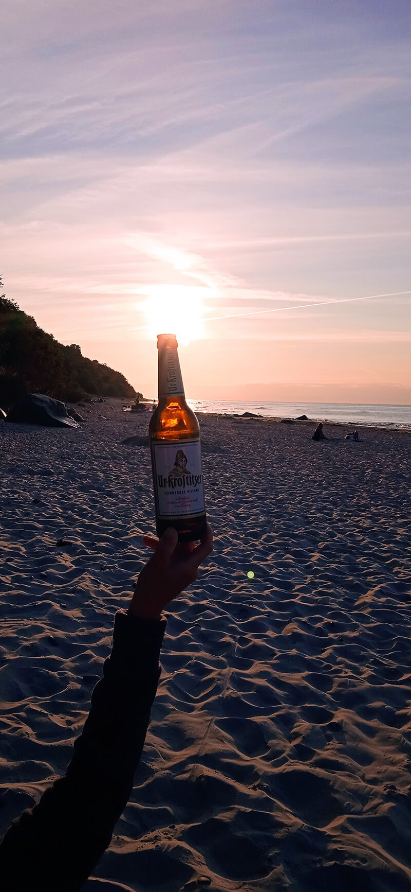 Nordstrand Rügen. Hier kann ich mich entspannen und ein Uri genießen. – André